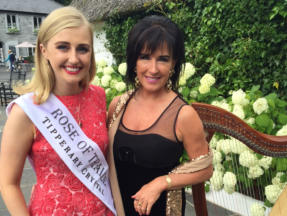 Me with the lovely Rose Of Tralee 2015